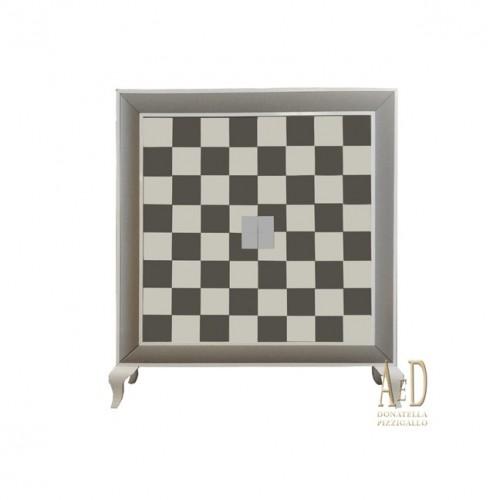 LA EBANISTERIA Credenza effetto scacchi