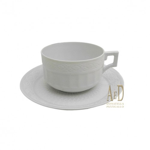Royal Copenhagen tazzina Fan White