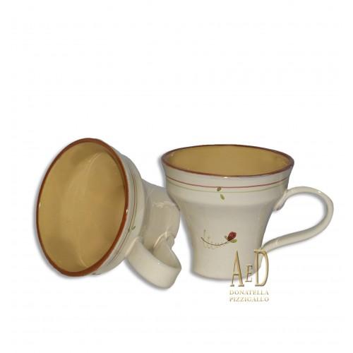 Gianfranco Ballerini Coppia di Tazze in ceramica