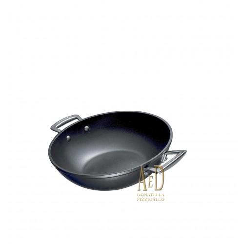 """Le Creuset enameled cast-iron Pan Ø28 white """"Cotton"""""""