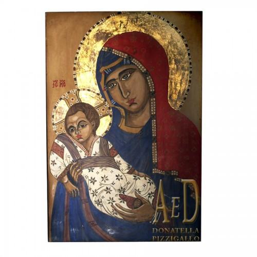 """Quadro """"La Vergine di Kikko"""""""