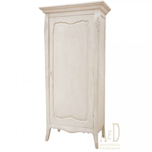 1 PICKLED LEAF CABINET SHABBY CHIC