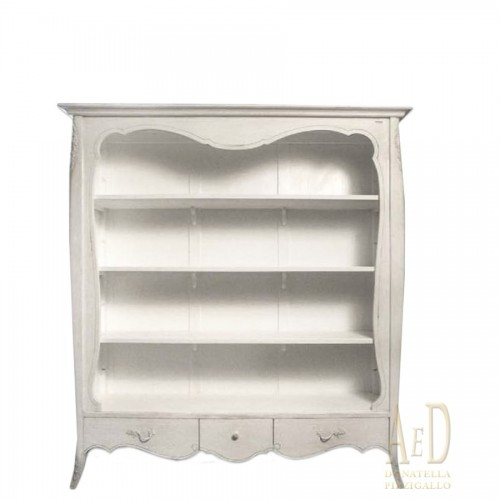 SHABBY CHIC WOODEN LIBRARY