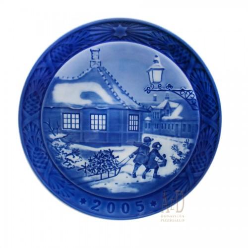 Royal Copenhagen Christmas plate 2005