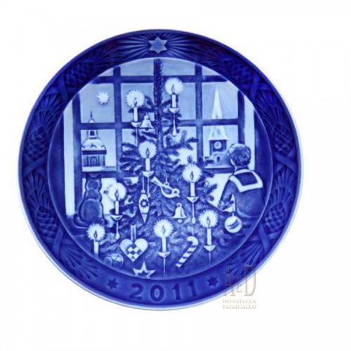 Royal Copenhagen Christmas plate 2011