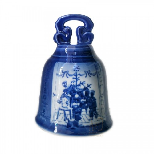Royal Copenhagen Christmas Bell 2000