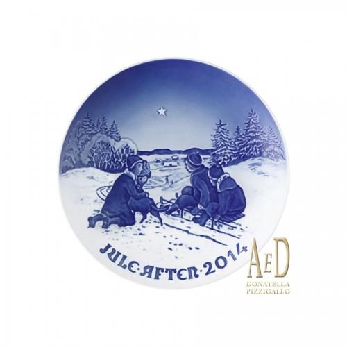 "ROYAL COPENHAGEN ""PIATTO DI NATALE BING & GRØNDAHL 2014"""