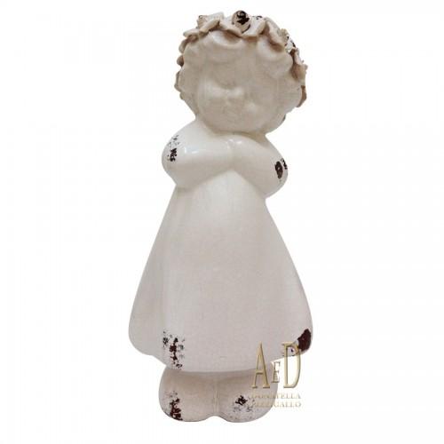 Shabby Chic Statua Angioletto