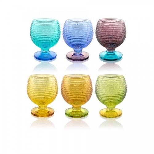 IVV 6 Set liqueur stemwares Multicolor
