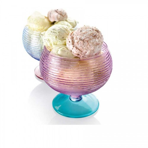 6 Cups ice cream Set IVV Multicolor